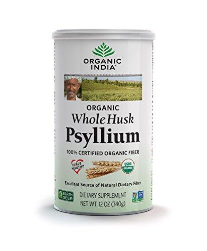 Organic India Whole Psyllium 12 Ounce