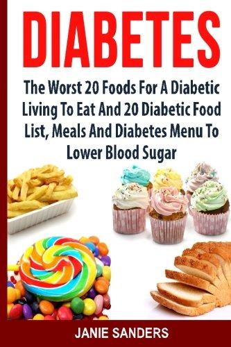 DIABETES Worst Foods Diabetes Diabetic