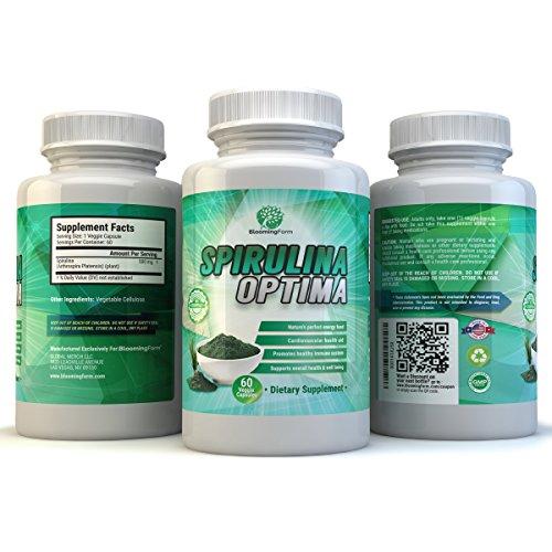 BloomingForm Spirulina Optima Superfood Antioxidant