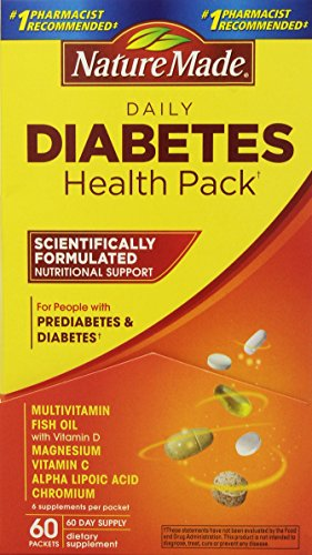 Nature Made Diabetes Health Packets