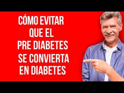 Cómo evitar que la pre diabetes se convierta en diabetes
