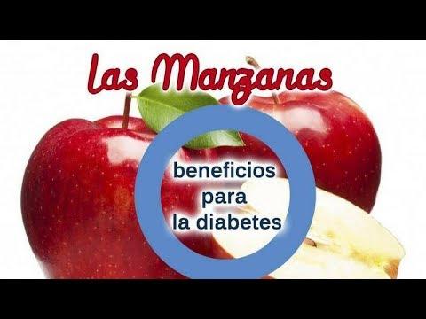 Beneficios de la manzana en personas con diabetes