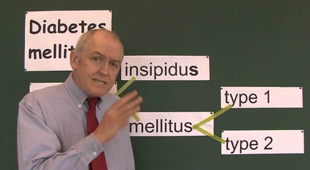 Diabetes 1, Insipidus, Type 1, Type 2