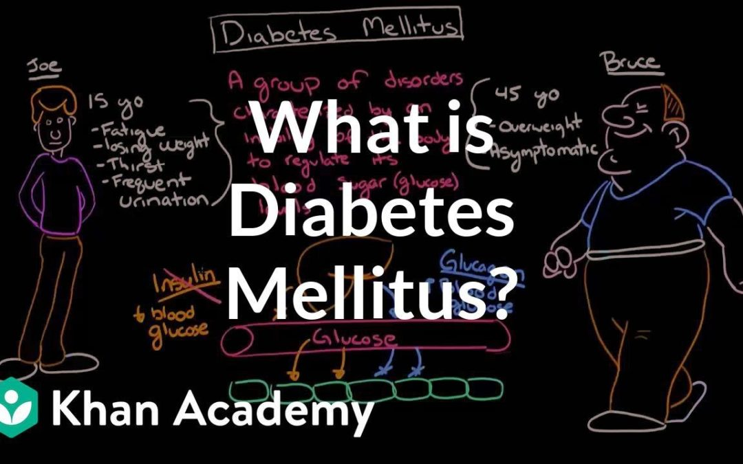 What is diabetes mellitus?   Endocrine system diseases   NCLEX-RN   Khan Academy