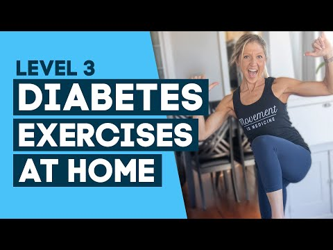 Diabetes Exercises At Home Workout: To Help Control Diabetes (Level 3)