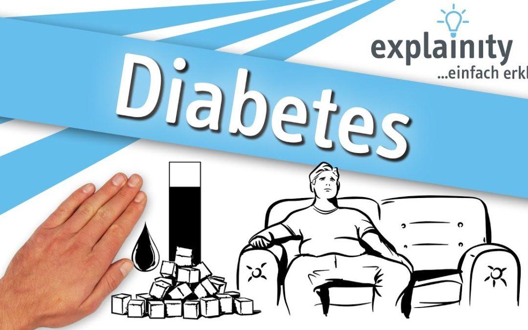 Diabetes einfach erklärt (explainity® Erklärvideo)