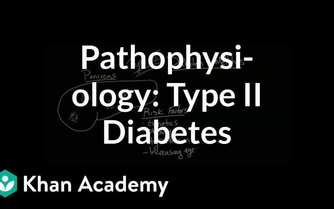 Pathophysiology – Type II diabetes | Endocrine system diseases | NCLEX-RN | Khan Academy