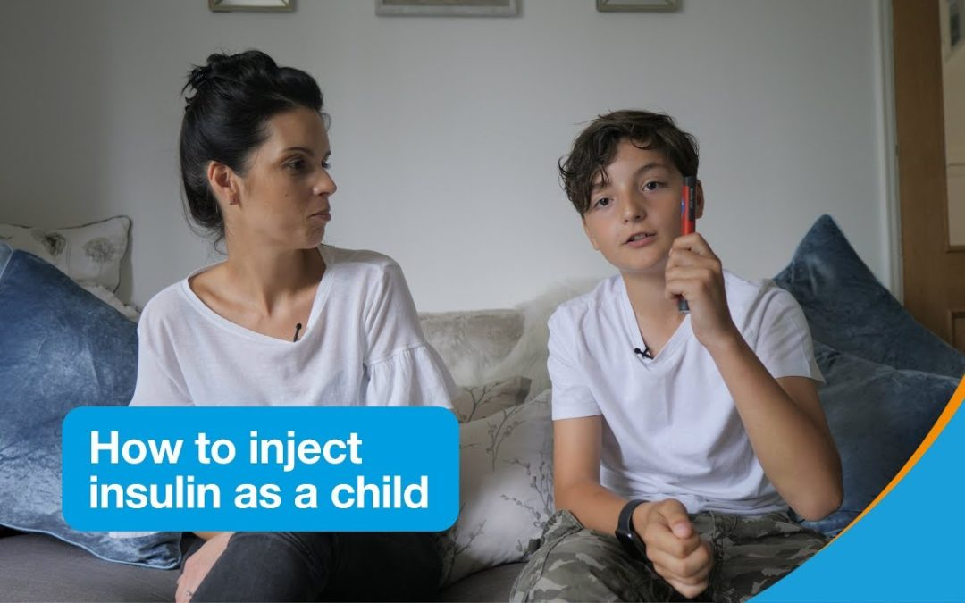How to inject insulin as a child | Diabetes UK