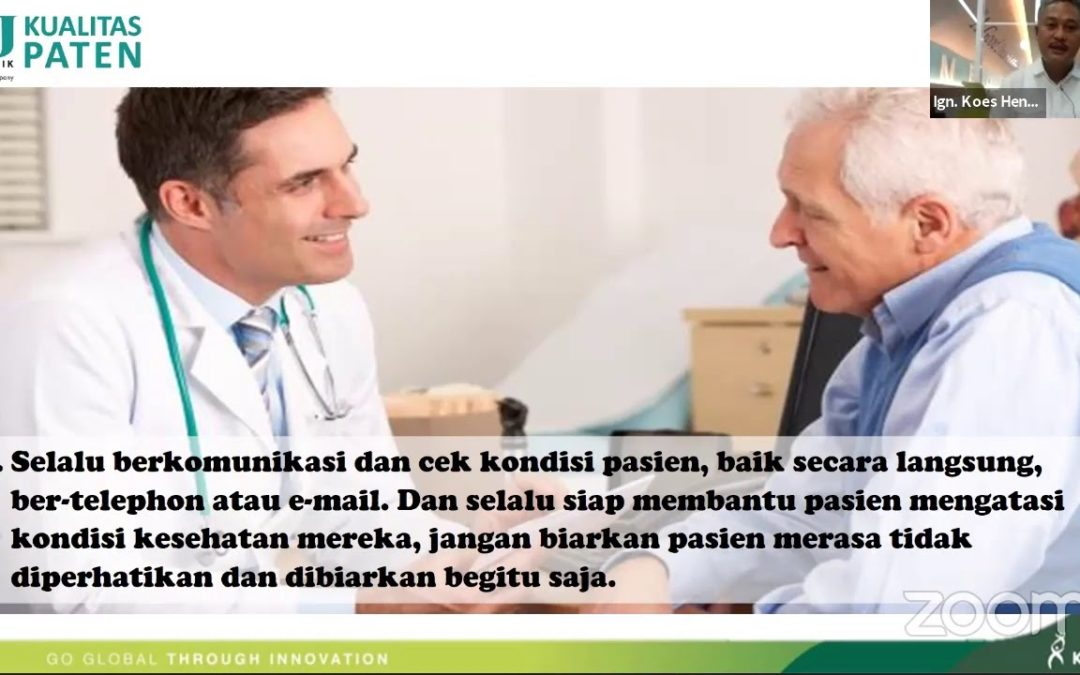 """KalbeMed – Webinar """"Diabetes in Covid-19: Medical and Pshycological Aspects"""""""