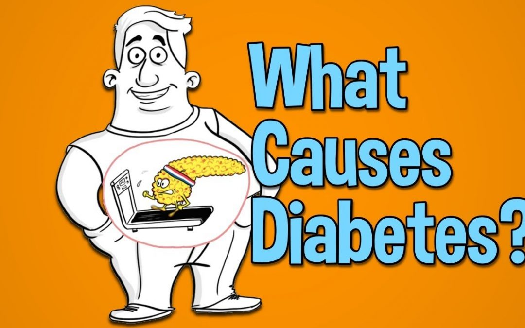 What causes diabetes, high blood sugar and type 2 diabetes