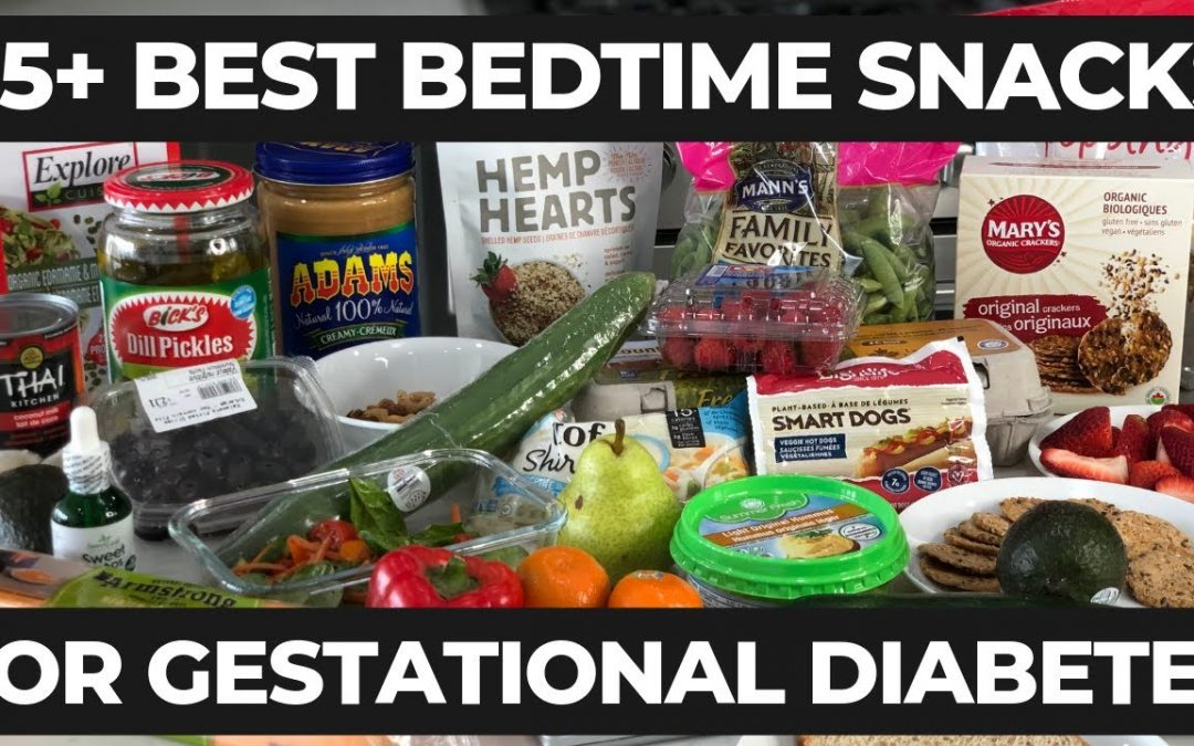 Bedtime Snack For Gestational Diabetes (for good blood sugar levels)