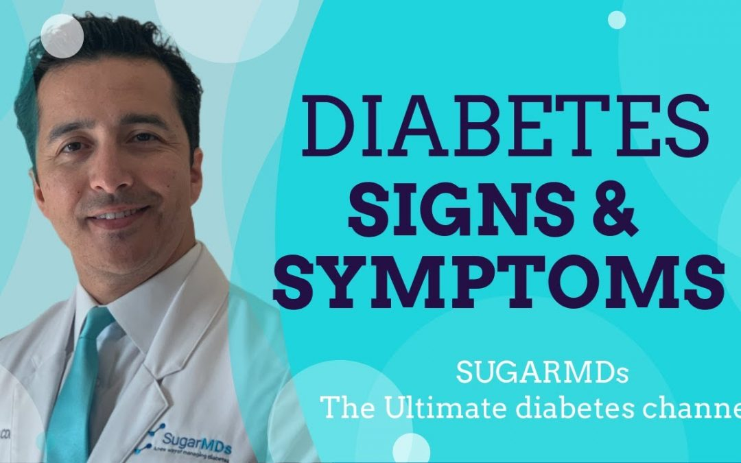 DIABETES symptoms and signs explained! What are diabetic signs and symptoms?