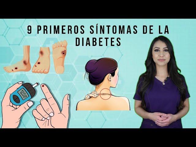 9 Primeros síntomas de la diabetes, todo lo que tienes que saber.