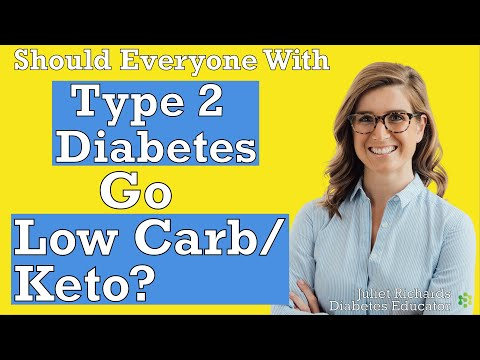 Should Everyone With Type 2 Diabetes Go Low Carb/Keto   Type 2 Diabetes Education