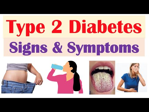 Type 2 Diabetes Signs & Symptoms (& Why They Occur) & Associated Conditions
