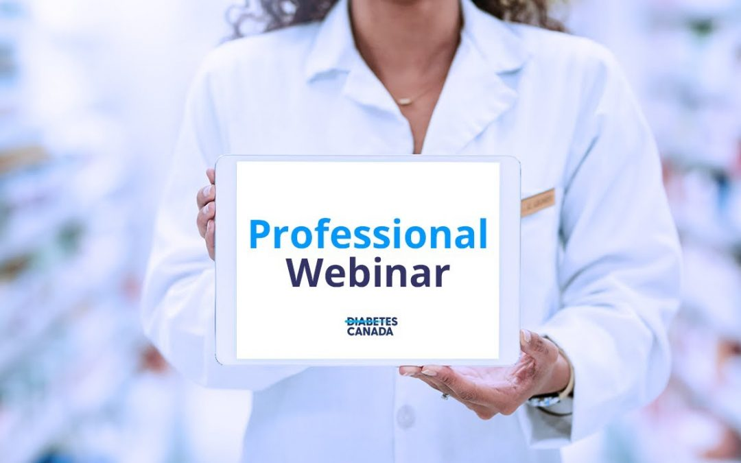 Diabetes Canada's Position on Low Carb Diets webinar